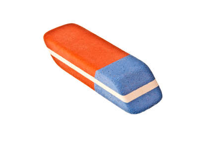 Eraser isolated on white background