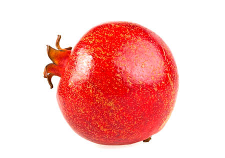 Pomegranate isolated on a white background Stock Photo