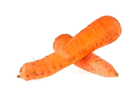 Carrot isolated on a withe background