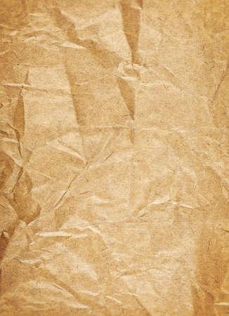 Braunes Vintage-Papier. Alter Papierhintergrund. Standard-Bild