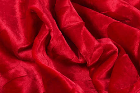 Red cloth photo