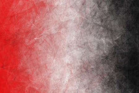 painting abstract red and black, fire and earth