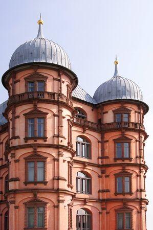 karlsruhe: gottesaue castle in karlsruhe