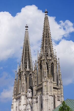 regensburg: Regensburg Cathedral Stock Photo