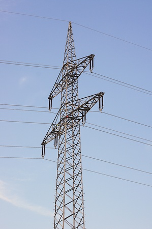 electricity providers: High-tension mast