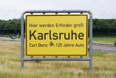 karlsruhe: Karlsruhe 125 is a year since automobile