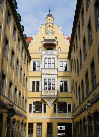 Leipzig downtown Stock Photo - 13670912