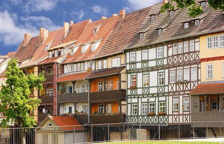 erfurt: Half-timbered houses in Erfurt