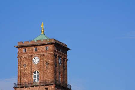 karlsruhe: Town Hall Tower Karlsruhe