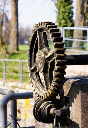 gearwheels: Gearwheels of a weir