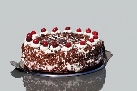 Black forest gateau photo
