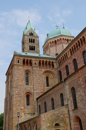 Cathedral in Speyer Stock Photo - 21751090