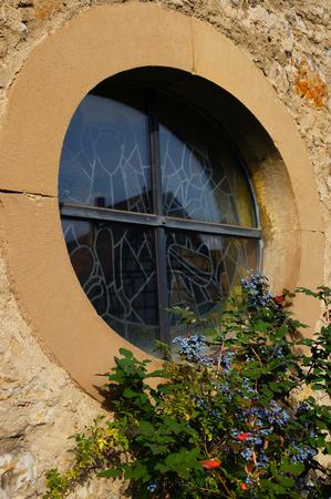 window church: Finestra della Chiesa Archivio Fotografico