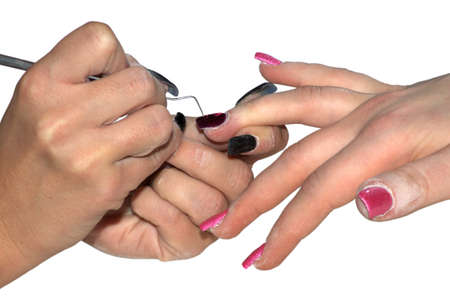 exempted female: Nail care