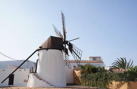 antigua: Windmill of Antigua Stock Photo