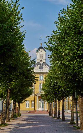 karlsruhe: West wing of the castle Karlsruhe