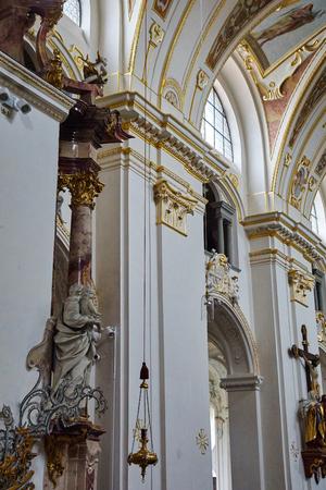 high altar: St. Lorenz Basilica in Kempten