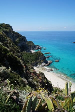 capo: Capo Vaticano in Calabria Stock Photo