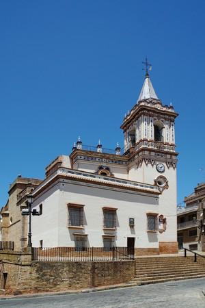 Parish Church Iglesia de San Pedro in Huelva Spain Stock Photo
