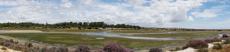 Marshes in the nature reserve Ria Formosa Stock Photo