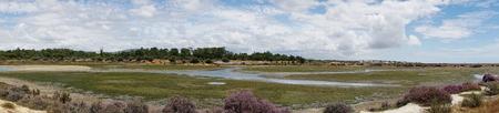 Moerassen in het natuurreservaat Ria Formosa