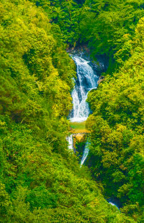 Banaue water fall in northern Luzon, Philippines