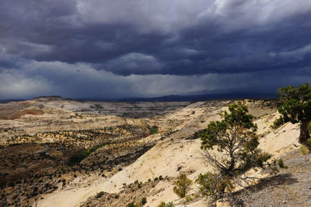 Calf Creek as viewed from the Hogs Back, Highway 12. Near Escalante Grand Staircase, Utah. Stock Photo - 6319751