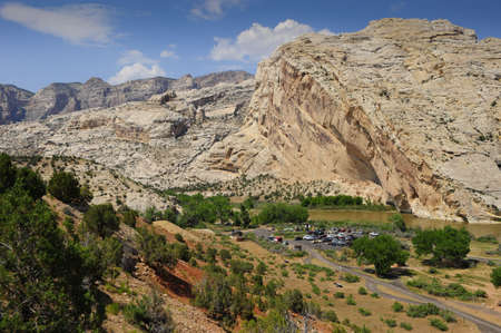 Split Mountain and the Green River in Dinosaur National Monument