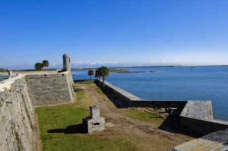 marcos: Castillo de San Marcos Historic site in St. Augustine, Florida