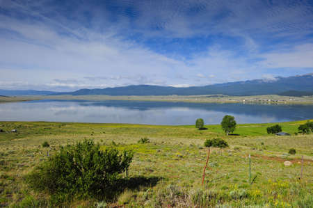 Eagle Nest Lake, near Taos, New Mexico Stock Photo - 6723540
