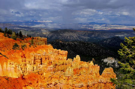 Colorful hoodoos at Bryce Canyon National Park in Utah Stock Photo - 12897003
