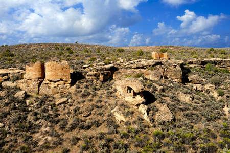 anasazi: Antichi Anasazi rovine di Hovenweep National Monument, Colorado