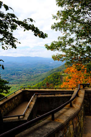 Fall colors in the Smoky Mountains photo