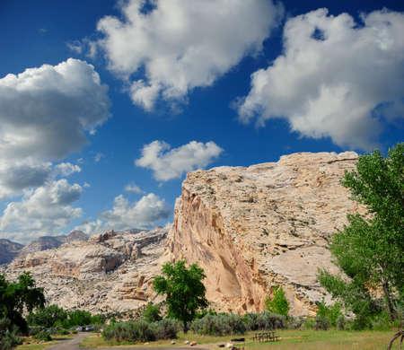 vernal: Picnic area at Dinosaur Natioanl Monument, Vernal, Utah
