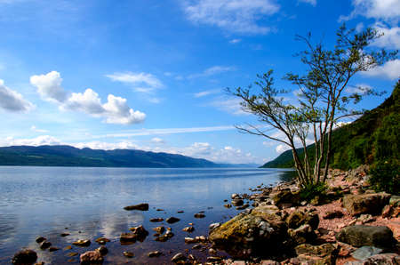 ness: Loch Ness, Scotland and the countryside