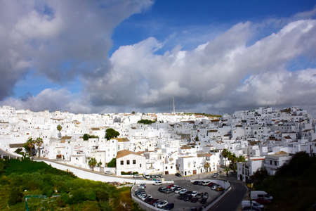 View of  Vejer de la Frontera Spain.