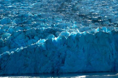 Sawyer Glacier in the Tracy Arm Fjord, Alaska