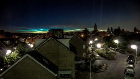 skylights: noctilucent clouds