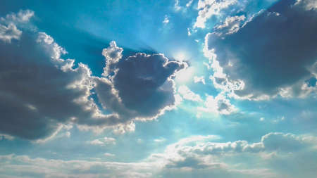 radiant: Radiant Sky with clouds and shadows