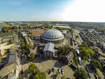 Dome Prison Haarlem 版權商用圖片