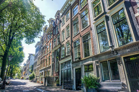 canal houses: Canal houses on Reguliersgracht in Amsterdam
