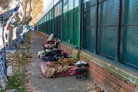 Slaapplaats van daklozen