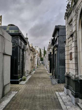 Monumental street of tombs
