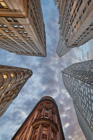 Looking to the sky in Manhattan
