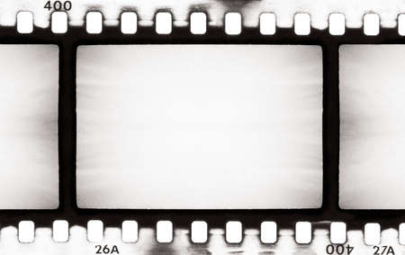 hardcore: empty film strip, may use as a background