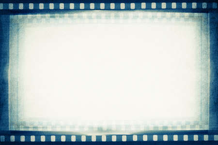 movie poster: designed empty film strip background