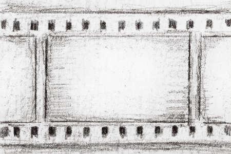 lembo: verniciato film strip skech, pu� utilizzare come sfondo