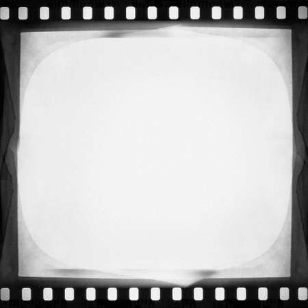 designed empty film strip background photo