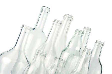 colourless: botellas vac�as, incoloros, aislados