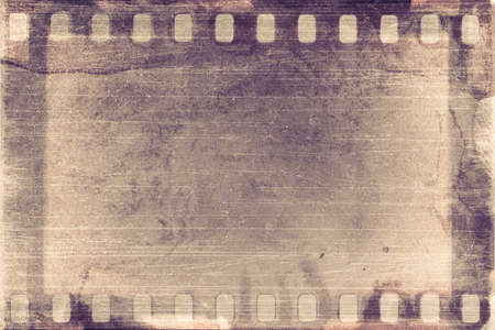 designed grunge filmstrip, may use as a background photo